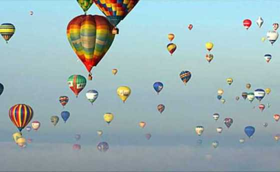 hot air balons
